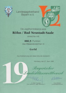 1996UrkundeNürnberg