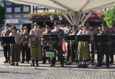 Konzert am Marktplatz in Bad Neustadt/Saale
