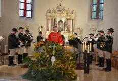 50. jähriges bestehen der Jagdhornbläsergruppe Rhön