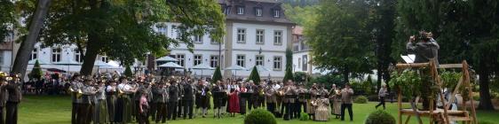 Jägerfest 2014 im Kurpark in Bad Neustadt